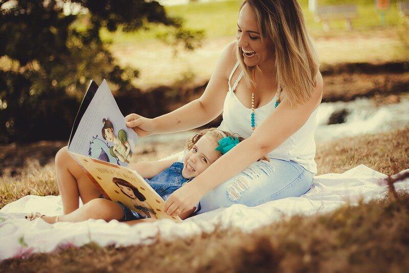 year 1 kid reading