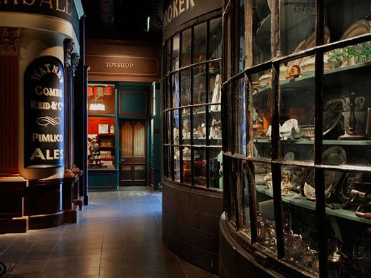 Museum of London interior