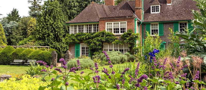Nuffield Place, a great stop off for National Trust Berkshire