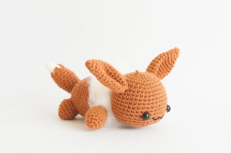 Eevee toy, to inspire Pokémon jokes
