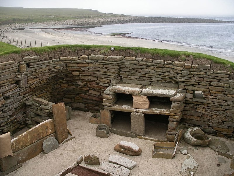 Skara Bae, stone age houses untouched by time