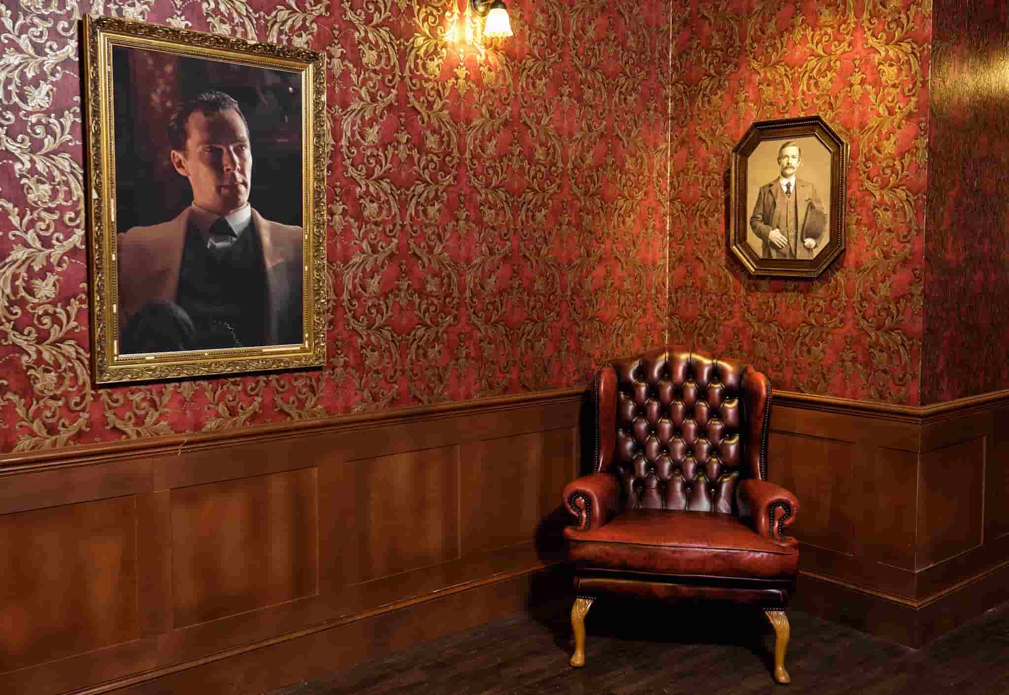 The interior of Sherlock: The Official Live Game.