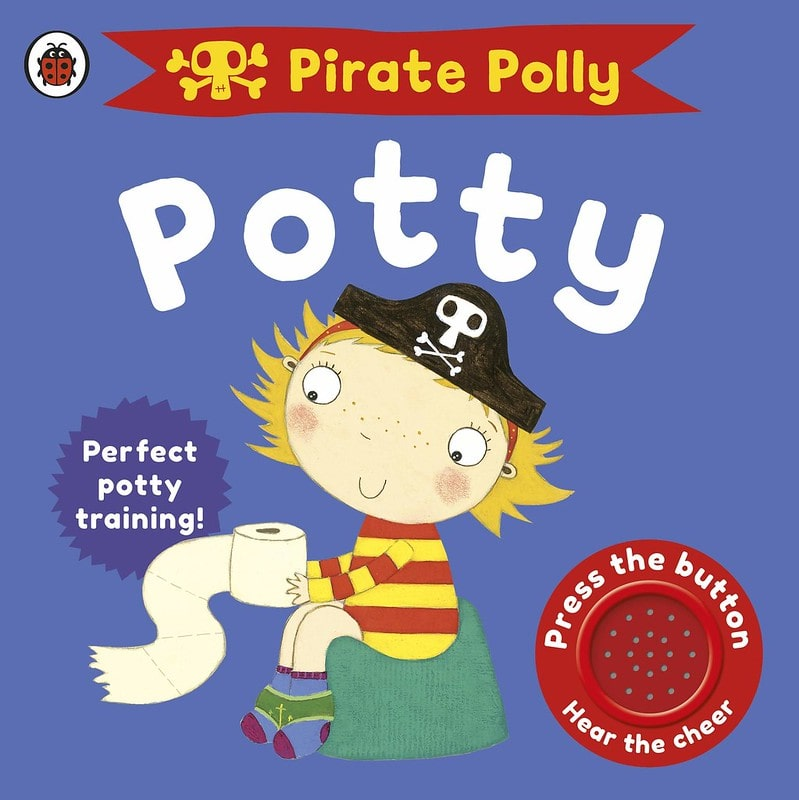 Pirate Polly's Potty/Pirate Pete's Potty: Potty Training for Boys and Girls by Andrea Pinnington