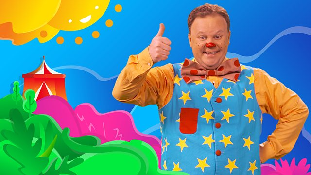 Mr Tumble on CBeebies