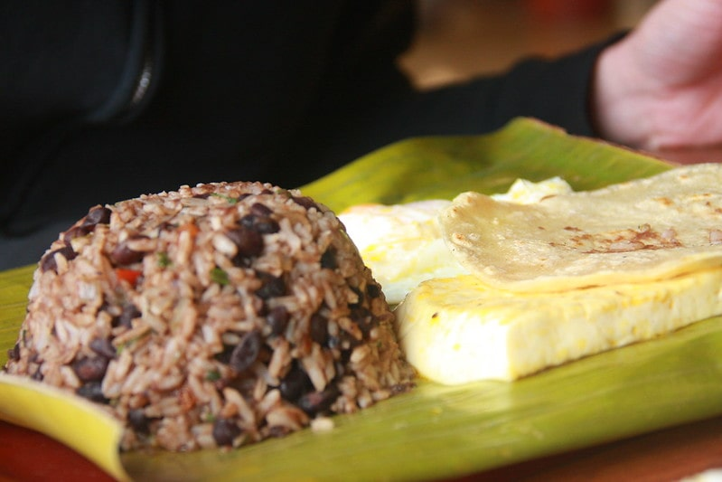 Gallo Pinto, a special meal found in Costa Rica