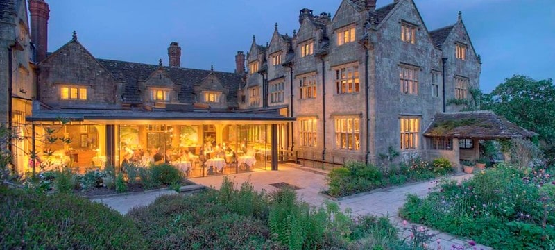 Gravetye Manor in Sussex is a great location for a babymoon.