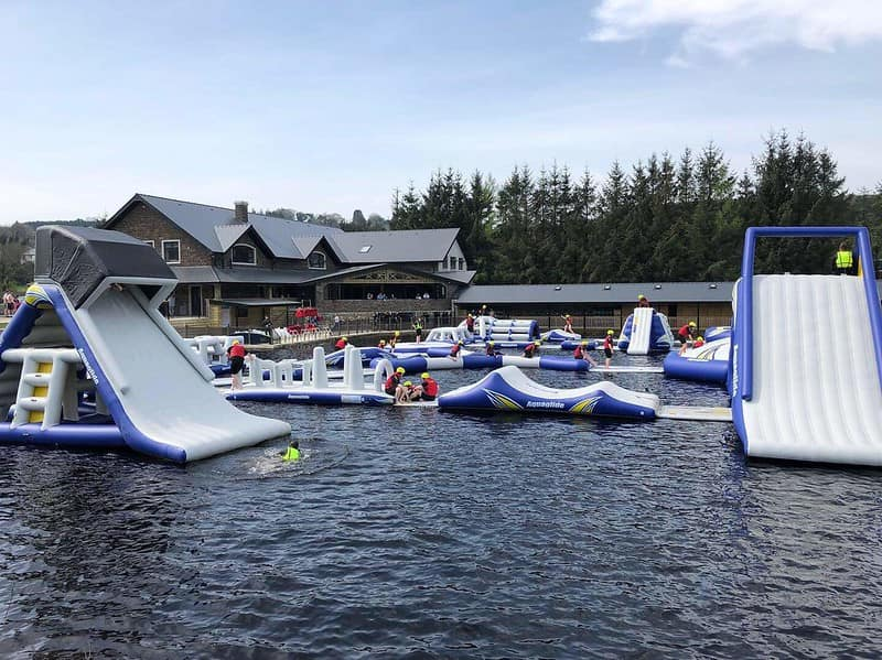 The Aquapark in Hidden Valley Resort, one of our favourite family holidays in Ireland