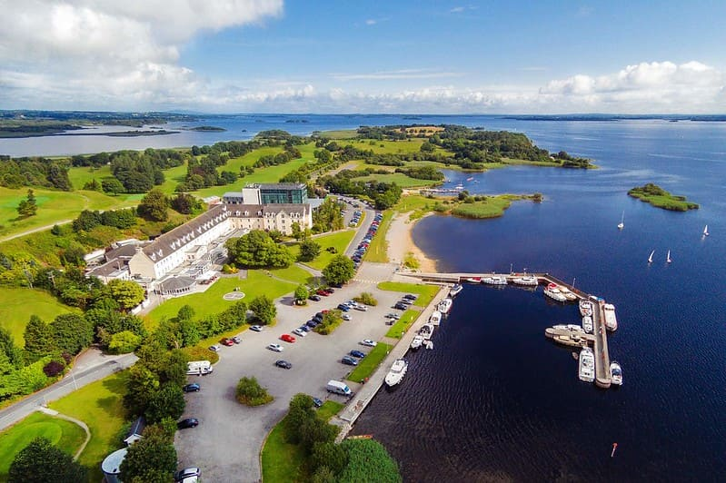 Hodson Bay Hotel in Ireland, one of our beautiful 'family holidays Ireland edition' recommendations