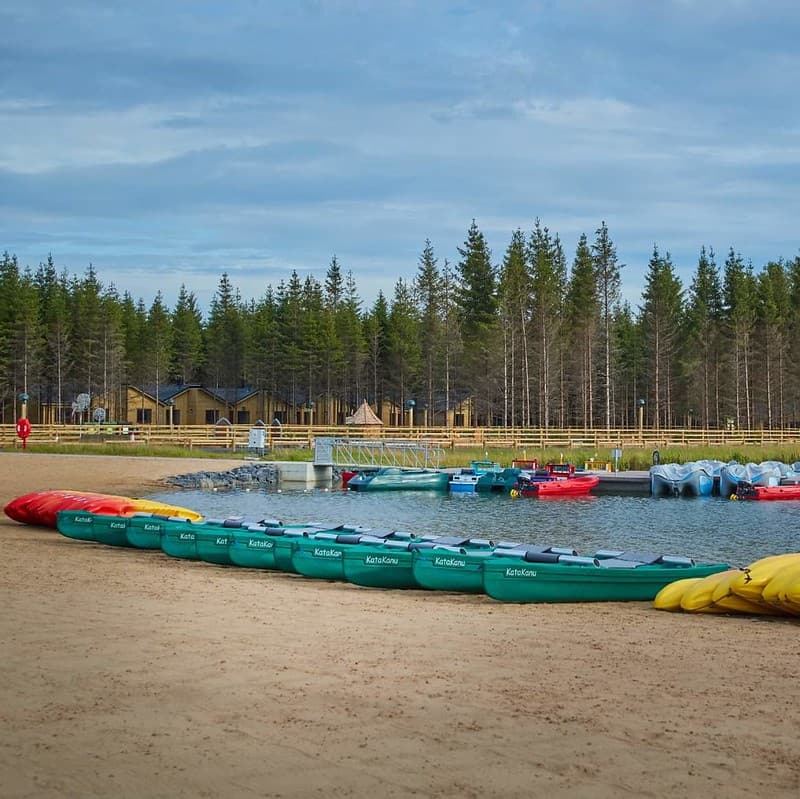 Center Parcs Longford Forest in Ireland, a lovely family holiday location