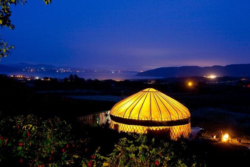 Portsalon Luxury Camping in Ireland
