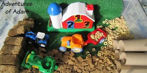 Harvest sensory bin harvest activities and crafts