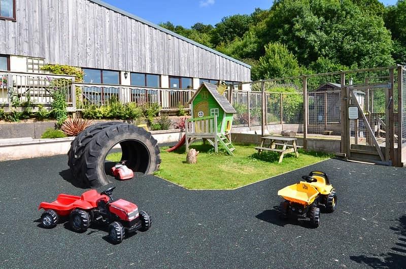 Knowle Farm playground in South Devon