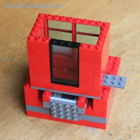 Create the slot for the candy in your lego candy dispenser