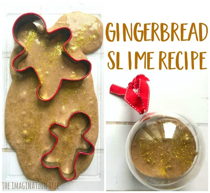 Gingerbread Slime Gingerbread Man Crafts