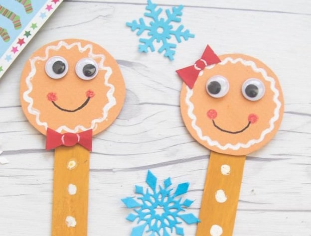 Gingerbread Men Bookmarks Gingerbread Man Craft