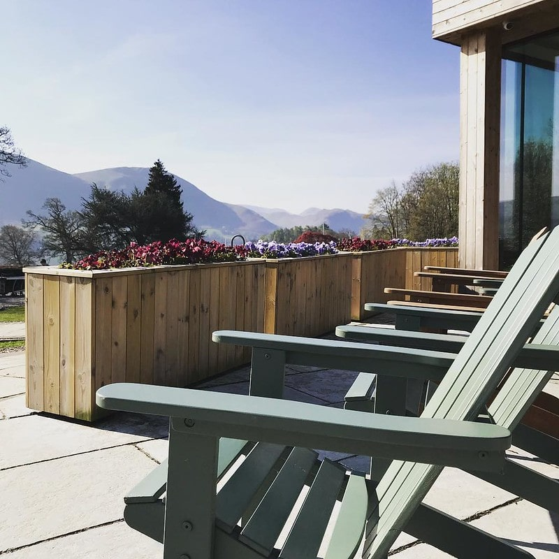 Exterior of Another Place in the Lake District, one of our favourite luxurious family spas in the UK.