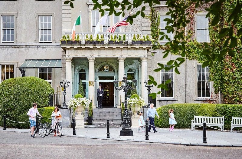 Exterior of Great Southern Killarney in Ireland, one of our favourite luxurious family spas in the UK.