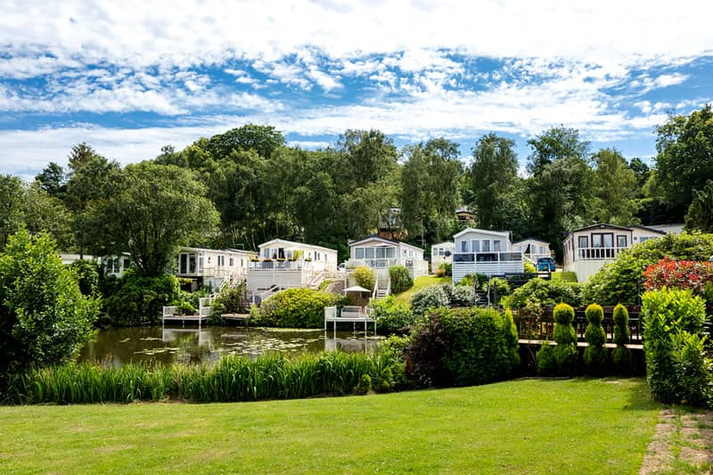 Coghurst Hall Holiday Park houses for family holidays with teenagers