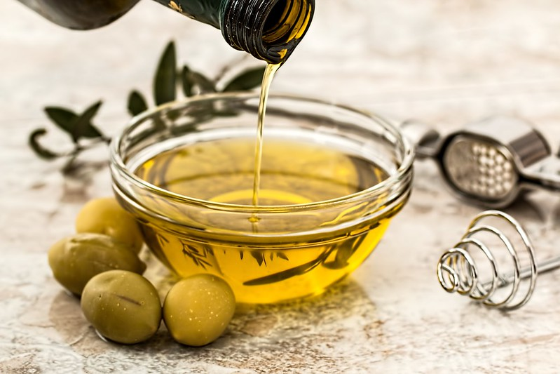 Olive oil for a salad dressing to cover salads your kids might actually eat.