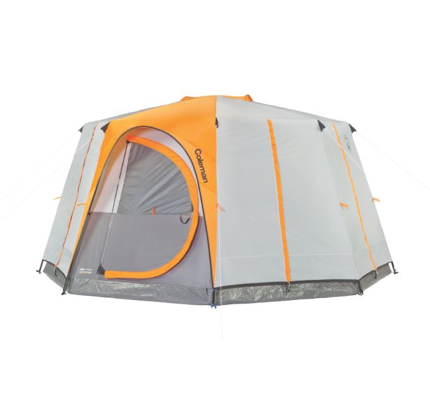 Coleman Octagon Dome Tent.