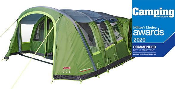 Coleman Weathermaster Blackout Air Tent.