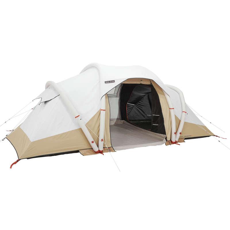 Quechua 4 Man Inflatable Blackout Tent.
