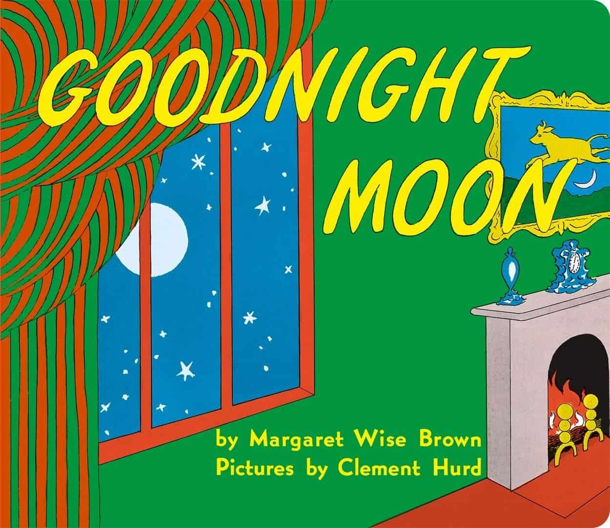 Goodnight Moon by Margaret Wise Brown.