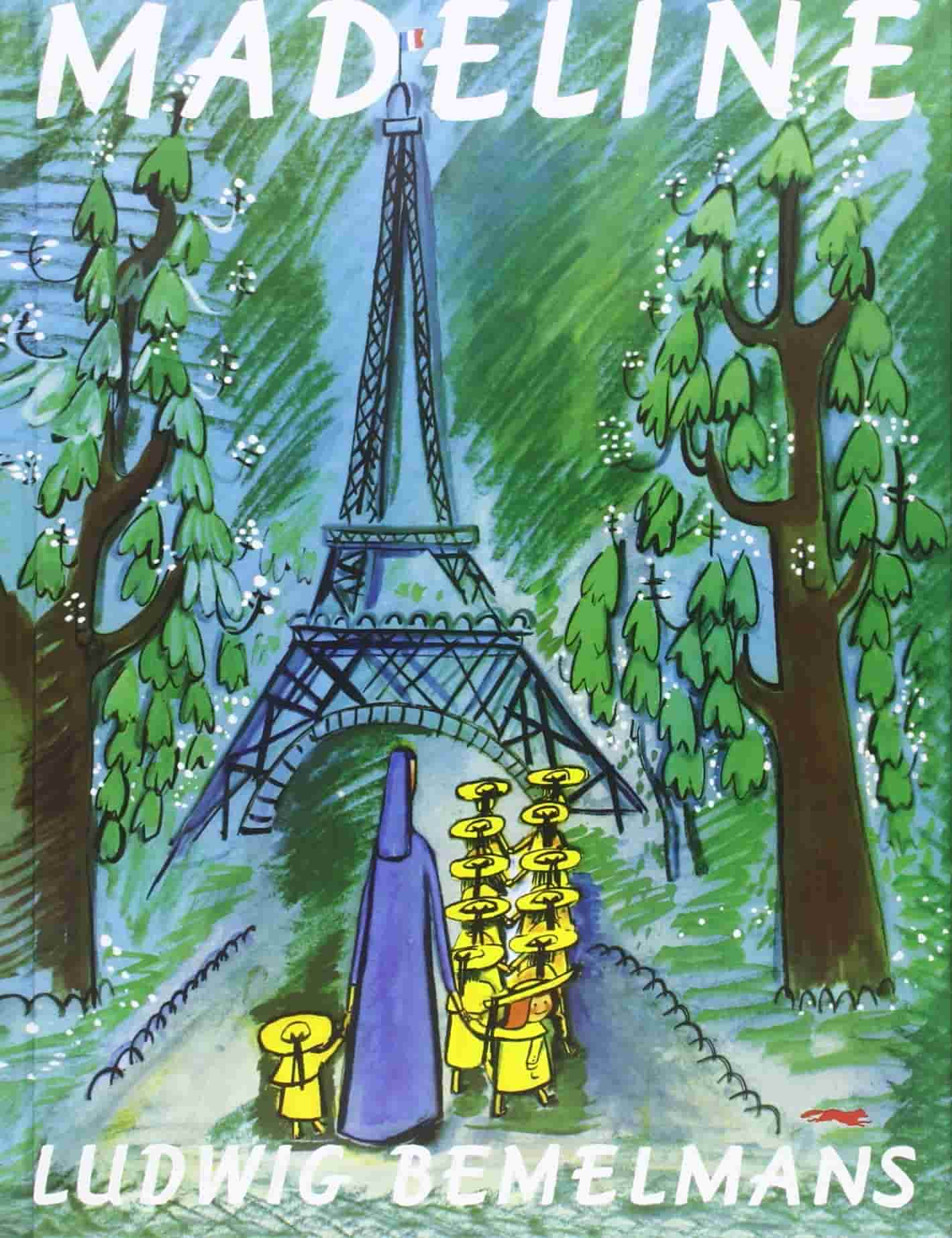 Madeline by Ludwig Bemelmans book cover.