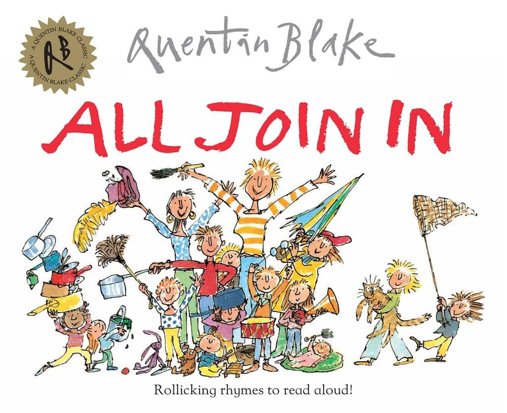 All Join In by Quentin Blake book cover.