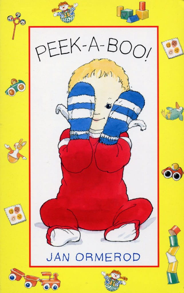 Peek-A-Boo! by Jan Ormerod book cover.
