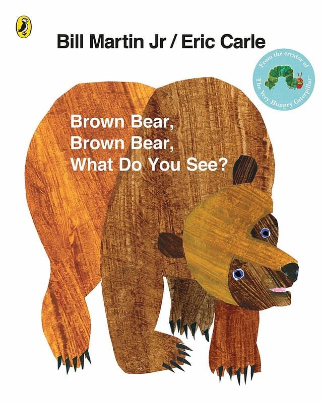 Brown Bear, Brown Bear, What Do You See? by Bill Martin Jr book cover.