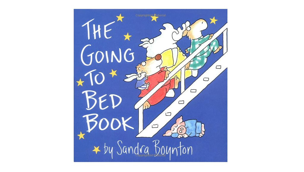 The Going To Bed Book by Sandra Boynton book cover.