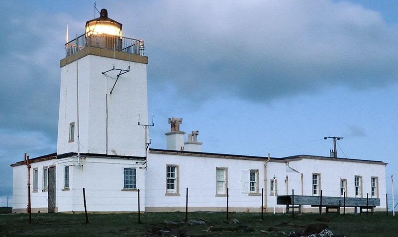 Peaceful Eshaness Lighthouse, Shetland Isles.