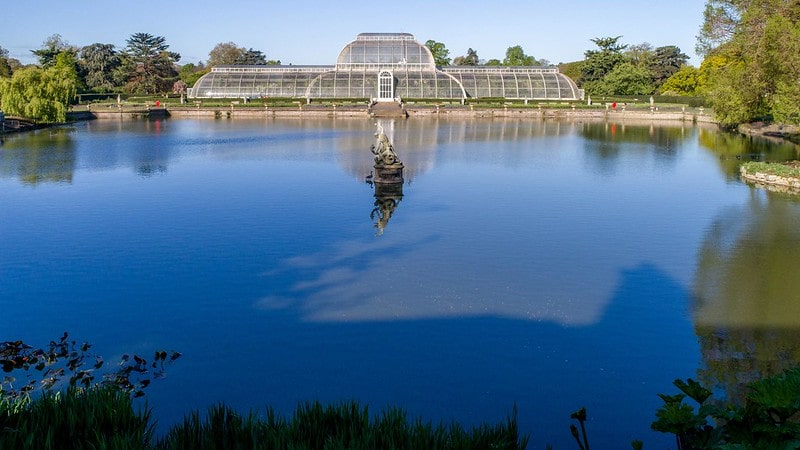 Beautiful Picnic Spot at Kew Gardens Conservatory