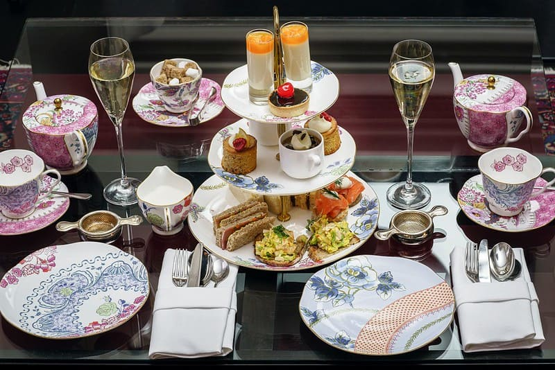 Tasty afternoon tea for a family afternoon in Northamptonshire.