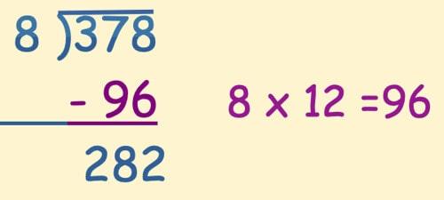 Chunking method example - step one.