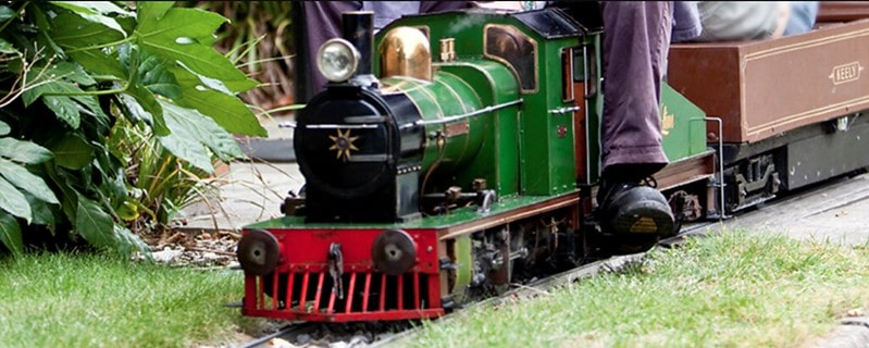 The London Transport Museum Miniature Railway, which can be ridden on at the London Museum of Transport depot.