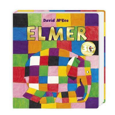Elmer Book Cover