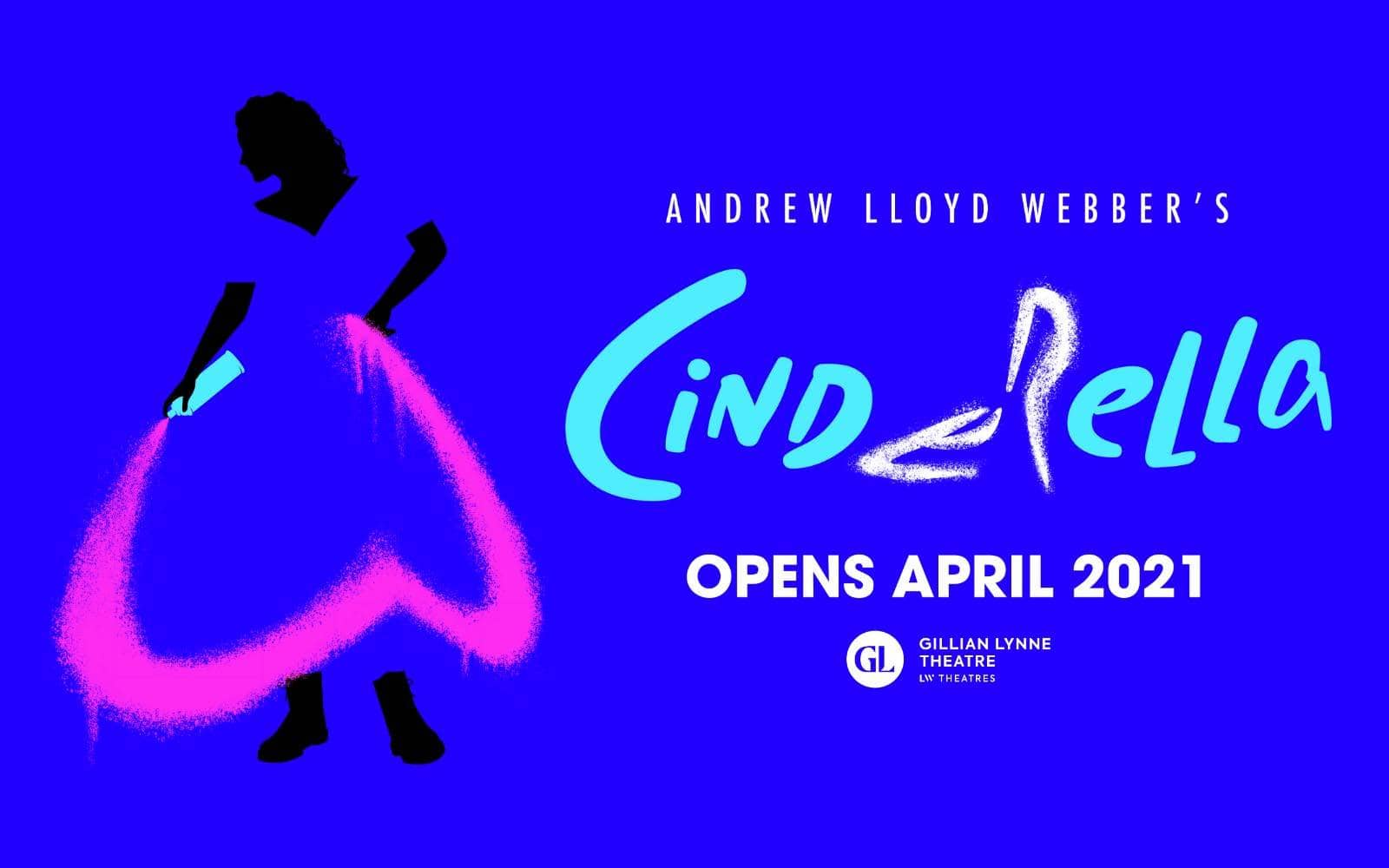 Poster for Andrew Lloyd Webber's Cinderella The Musical.