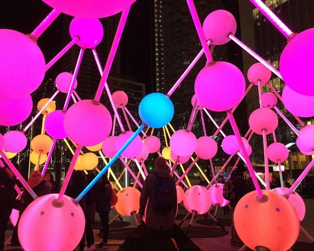 Canary Wharf Lights Festival