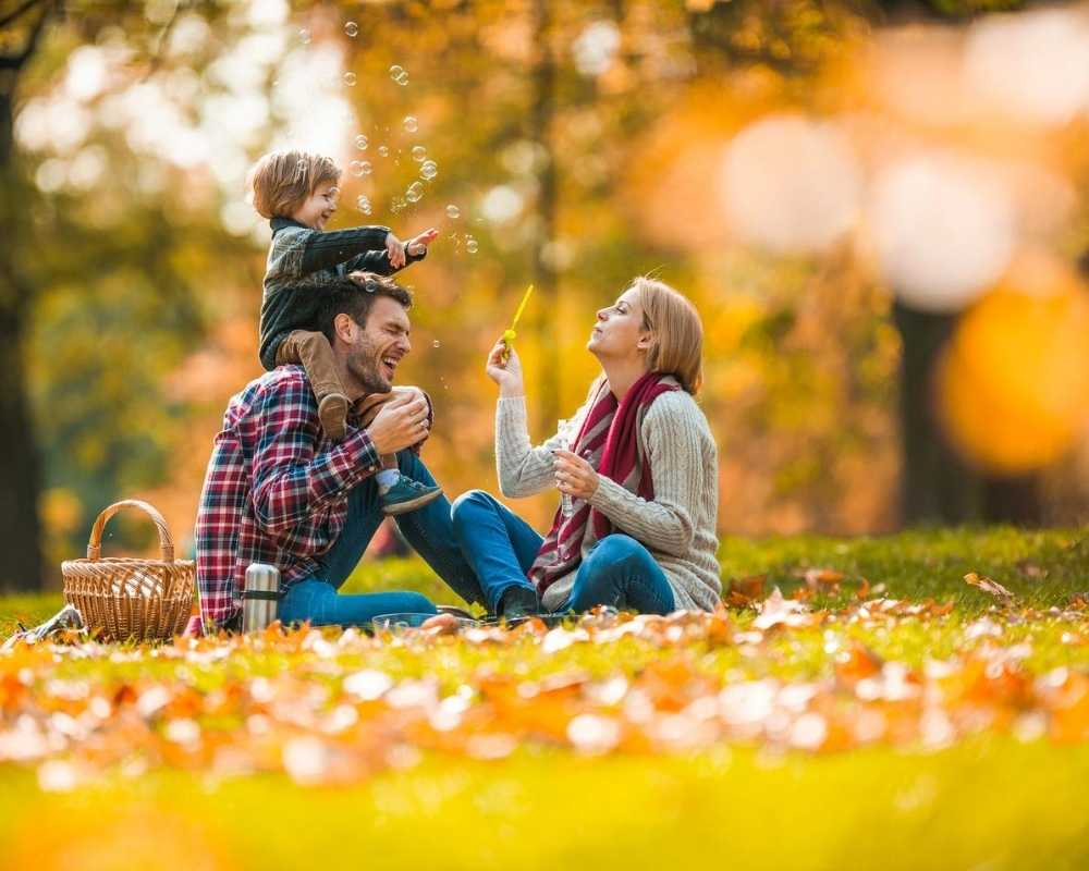 Family enjoying october half-term deals