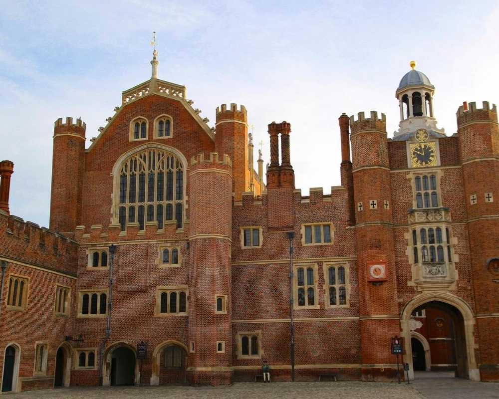 Hampton Court Palace tudor section