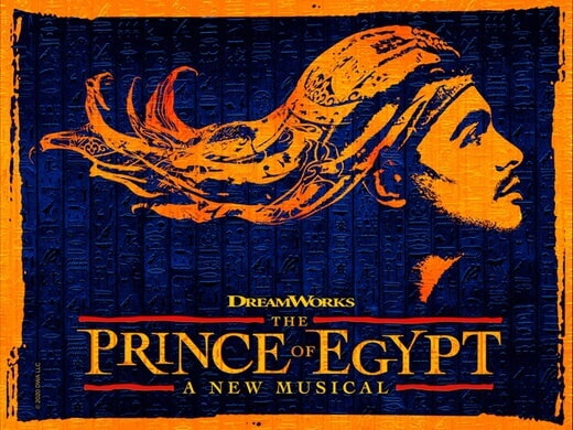 The Prince of Egypt poster.