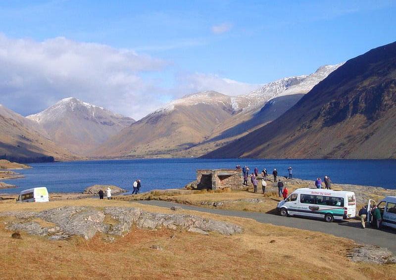 Mountain Goat bus tour in the Lake District.
