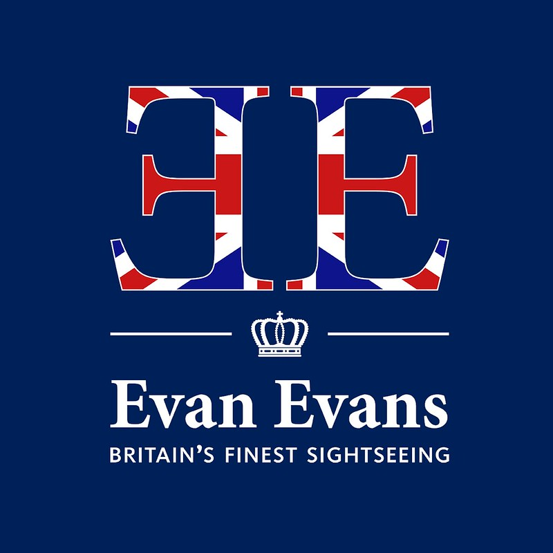 The logo for Evan Evans Tours.