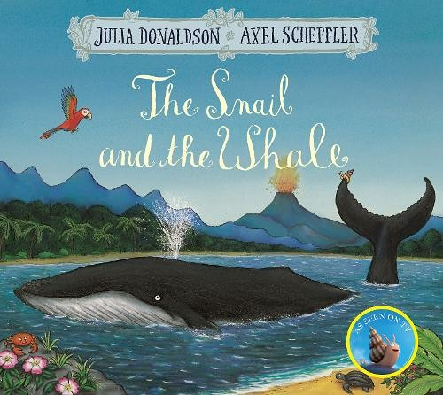 Cover of 'The Snail and the Whale' by Julia Donaldson.
