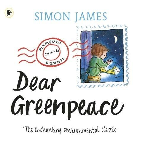 Cover of 'Dear Greenpeace' by Simon James.