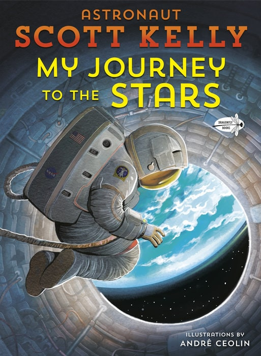 Cover of 'My Journey to the Stars' by Scott Kelly.