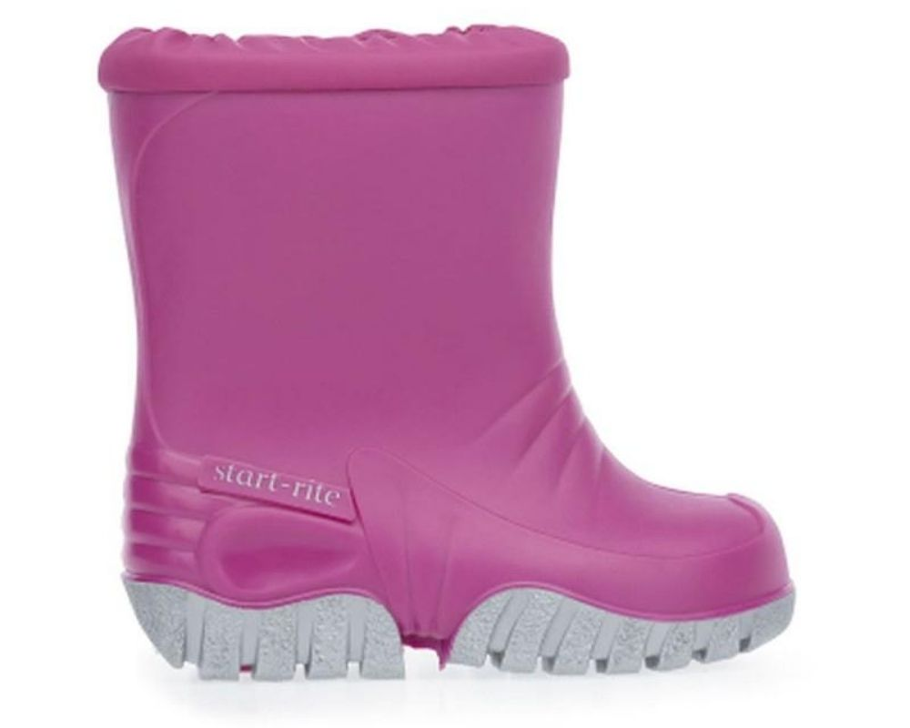 Pink Baby Mudbuster Boots.