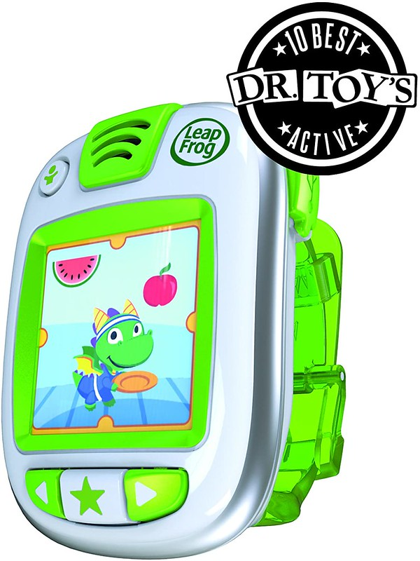 Green Leapfrog LeapBand Activity Tracker.
